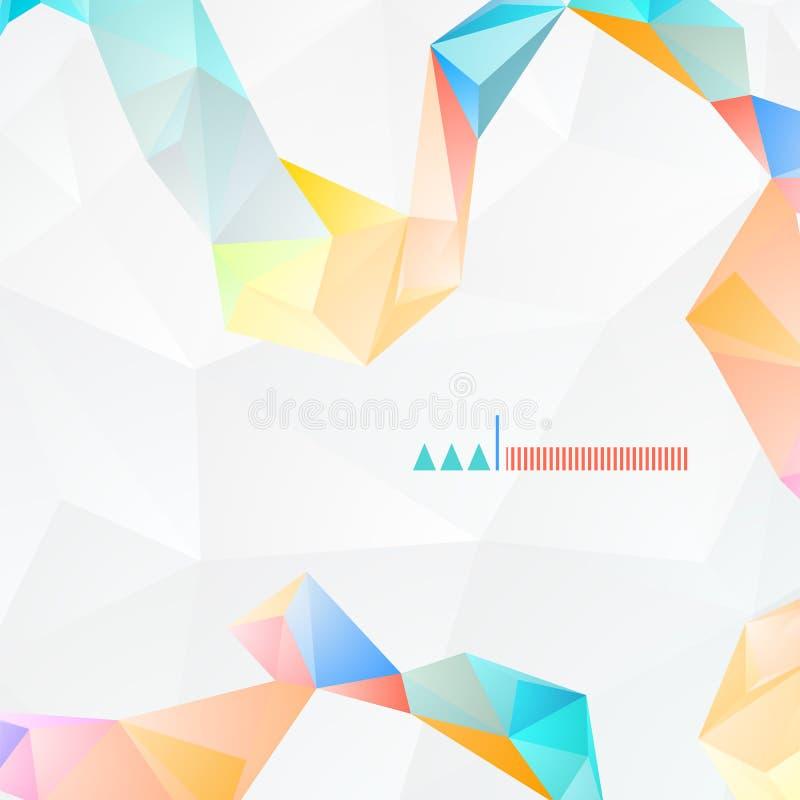 Abstracte vectorachtergrond 01 royalty-vrije illustratie