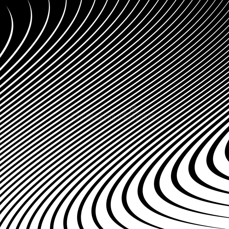 Abstracte vectorachtergrond van golven vector illustratie