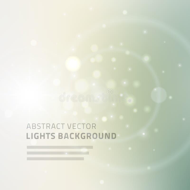 Abstracte vectorachtergrond voor websitekopbal vector illustratie
