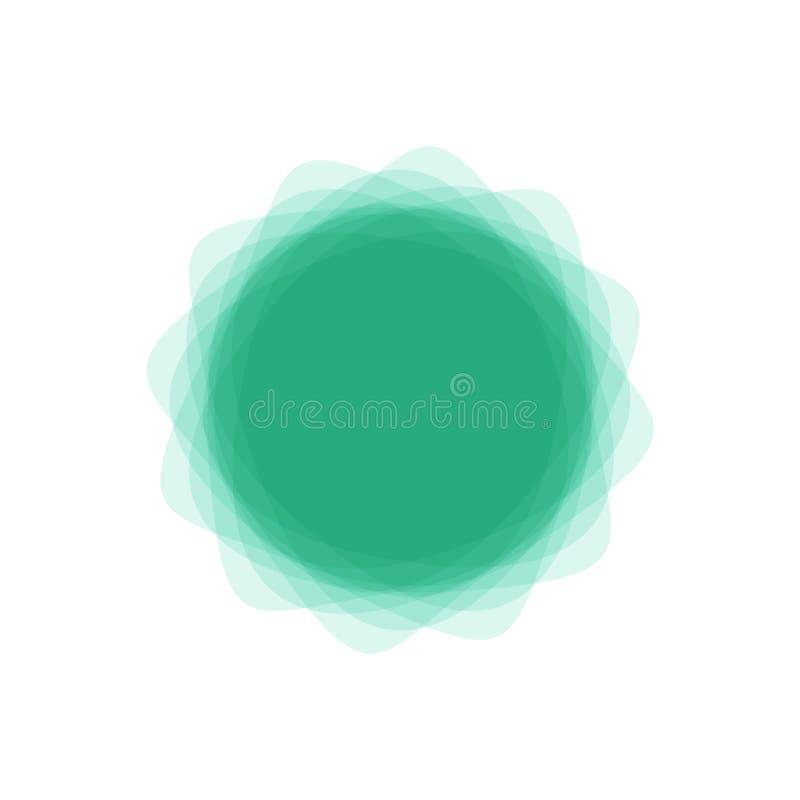Abstracte vectorbanners De elementen van het ontwerp royalty-vrije illustratie