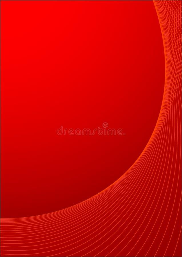 Abstracte vectorillustratie als achtergrond royalty-vrije illustratie