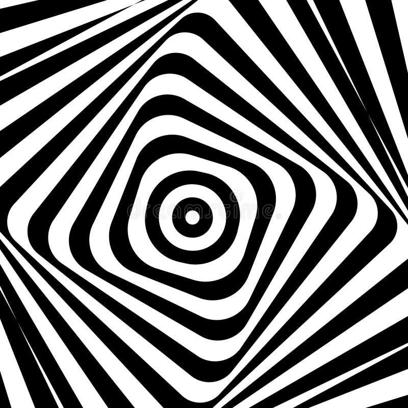 Abstracte Vectorillustratie psychoachtergrond royalty-vrije illustratie