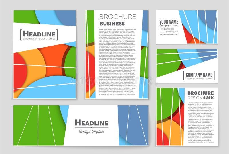 Abstracte vectorlay-outreeks als achtergrond Voor het ontwerp van het kunstmalplaatje, lijst, voorpagina, het themastijl van de m vector illustratie
