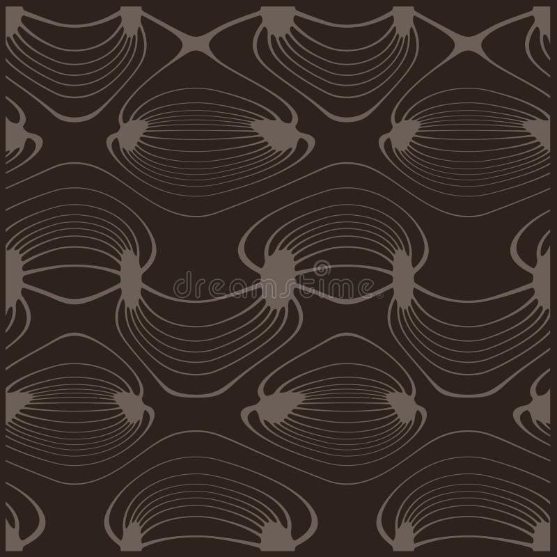 Abstracte vectortextuur royalty-vrije illustratie