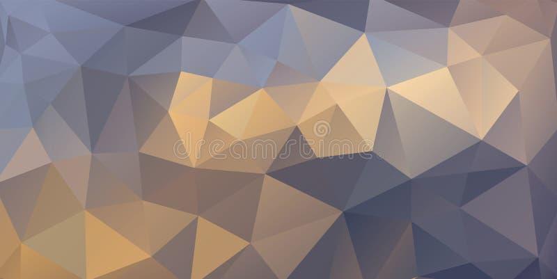 Abstracte veelhoekige achtergrond vector illustratie