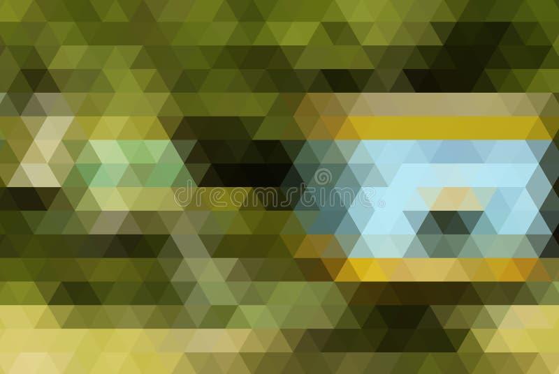 Abstracte veelhoekige achtergrond Dit is dossier van EPS10-formaat royalty-vrije illustratie