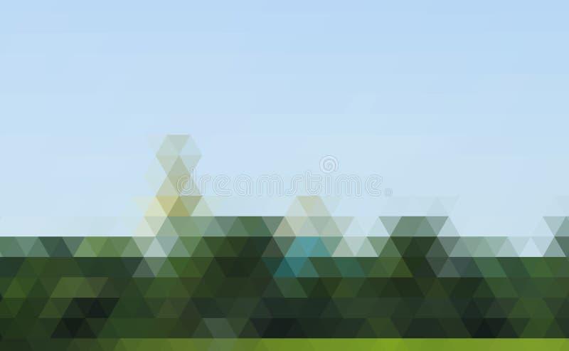 Abstracte veelhoekige achtergrond Dit is dossier van EPS10-formaat stock illustratie