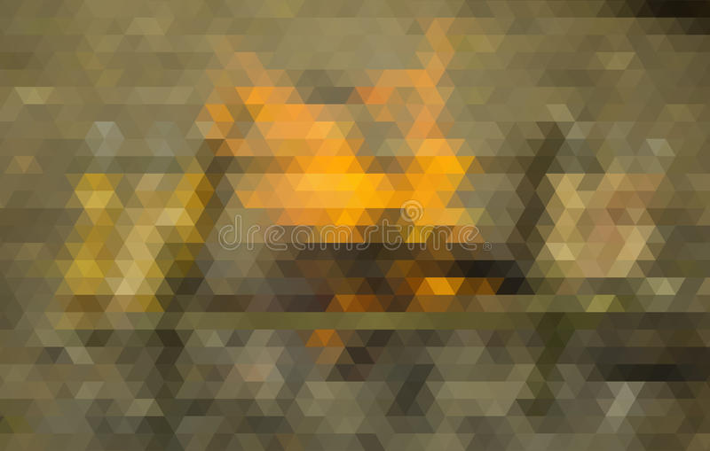 Abstracte veelhoekige achtergrond Dit is dossier van EPS10-formaat royalty-vrije stock afbeeldingen