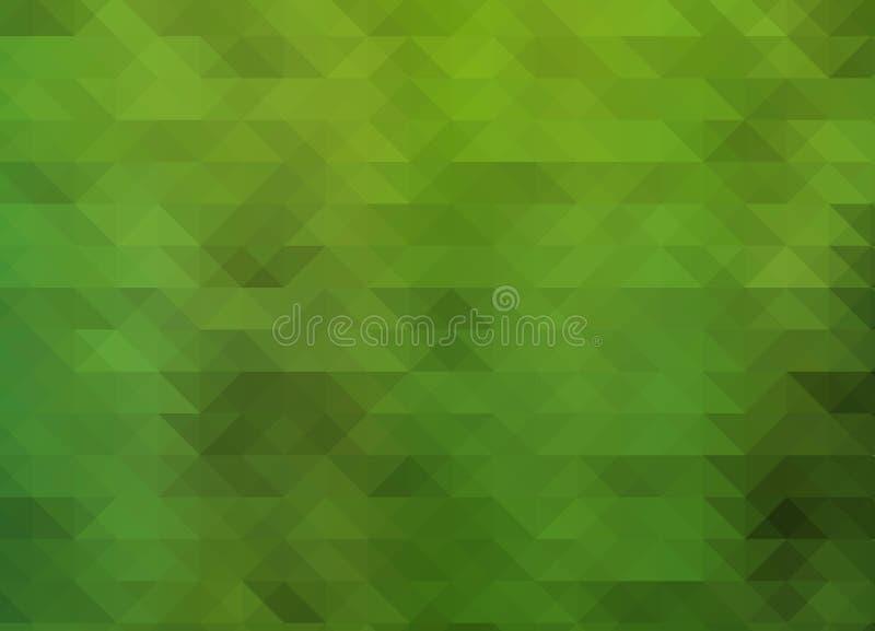 Abstracte veelhoekige achtergrond driehoeken stock illustratie