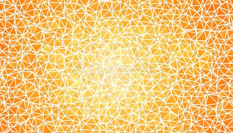 Abstracte veelhoekige achtergrond Driehoekige textuur vector illustratie
