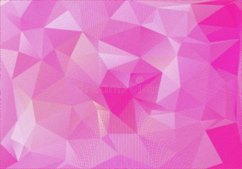 Abstracte veelhoekige achtergrond Futuristische stijl E stock illustratie
