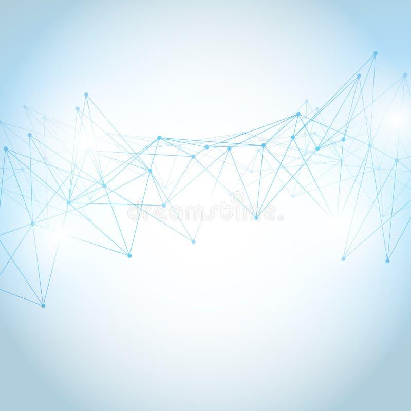 Abstracte veelhoekige ruimte lage polyachtergrond vector illustratie