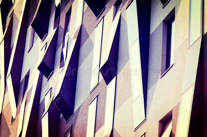 Abstracte vensters stock afbeelding