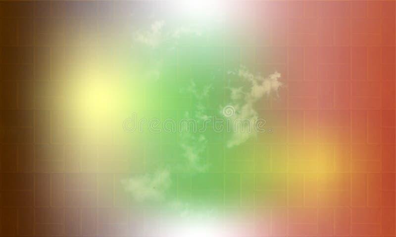 Abstracte verloopvervaging multicolores textuurlichtspectrum radiale achtergrond Radiaal concentrisch patroon Vivid neonkleuren vector illustratie