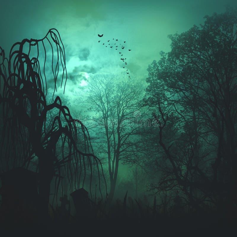 Abstracte verschrikkingsachtergronden vector illustratie