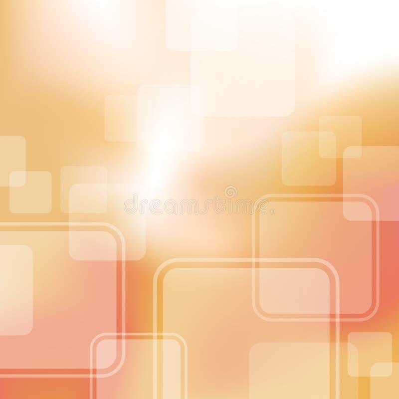 Abstracte Vierkante Achtergrond royalty-vrije illustratie