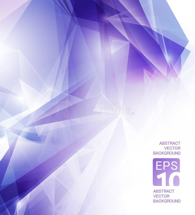 Abstracte violette achtergrond stock illustratie