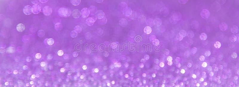Abstracte violette bokehachtergrond royalty-vrije stock foto's