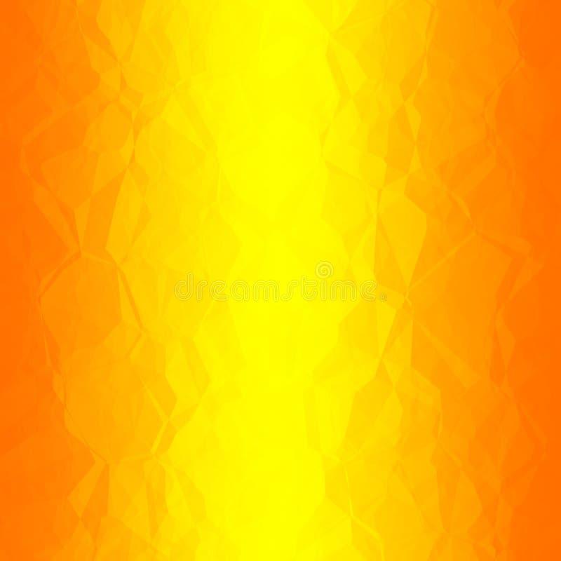 Abstracte vlammenachtergrond royalty-vrije illustratie