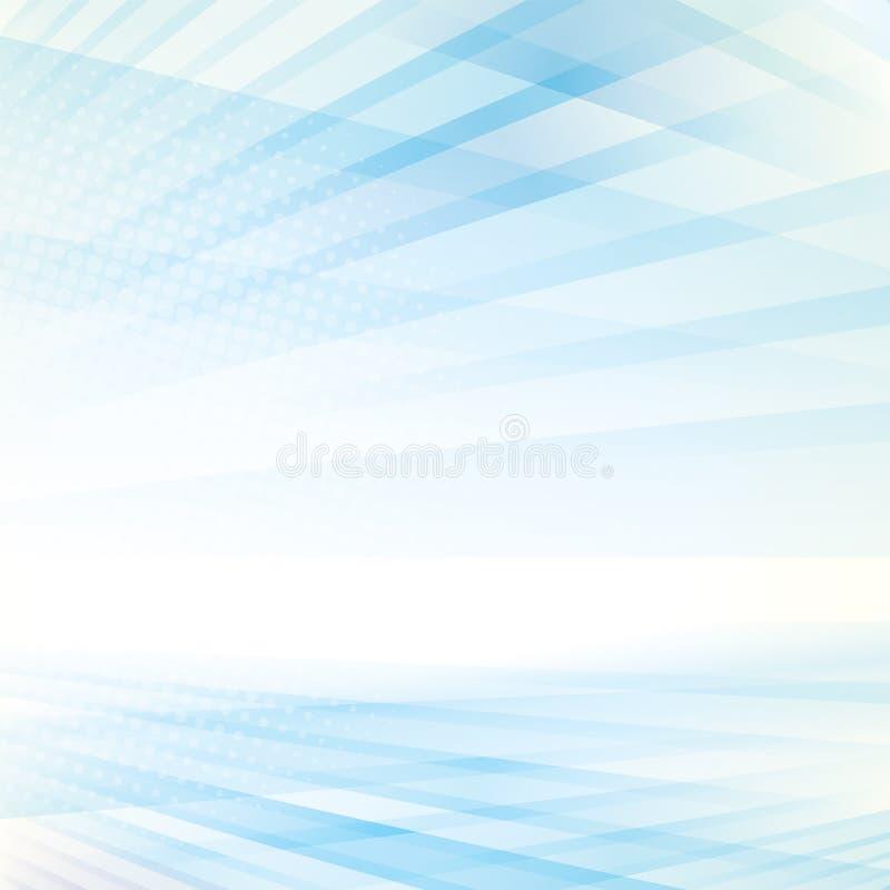 De abstracte Achtergrond van het Perspectief stock illustratie