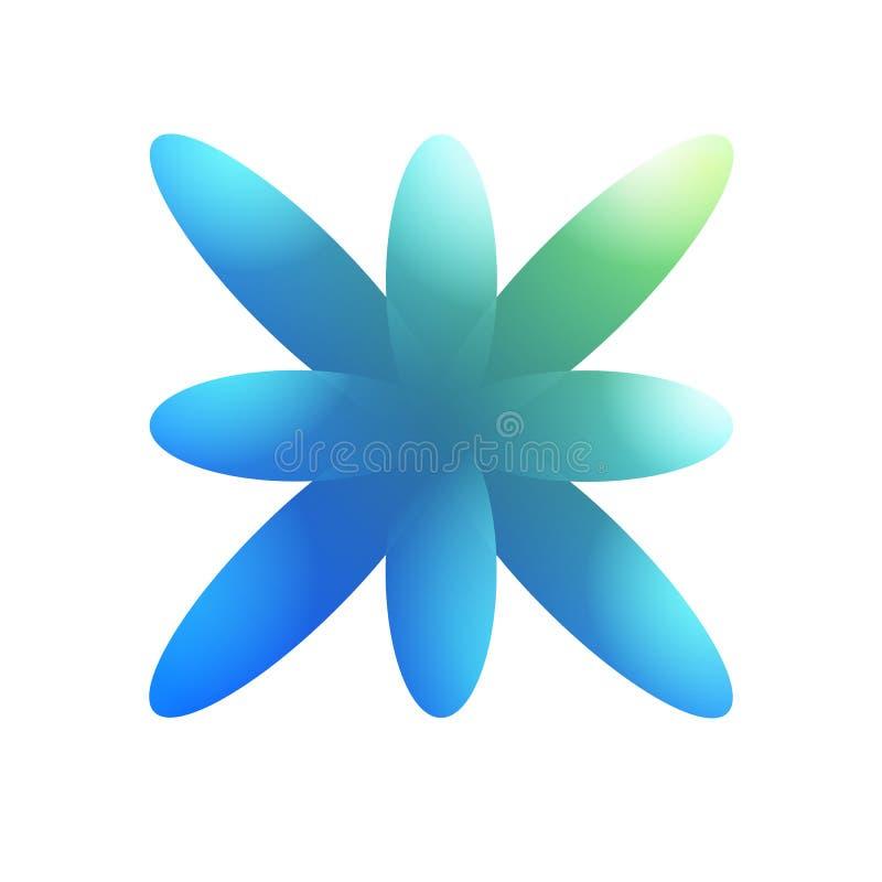 Abstracte vorm kleurrijke gradiënt vector illustratie