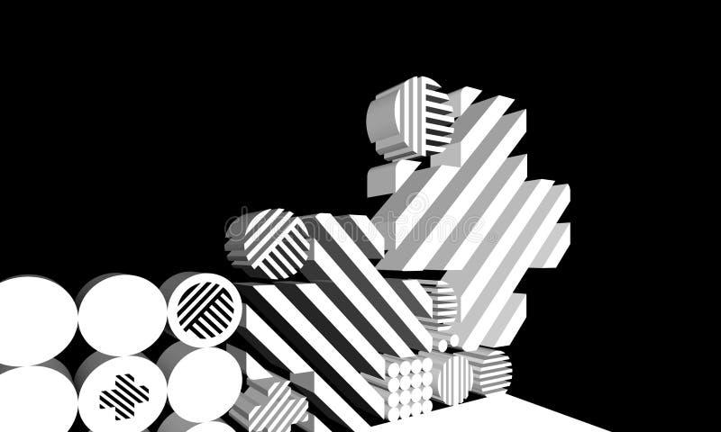Abstracte Vormen stock illustratie