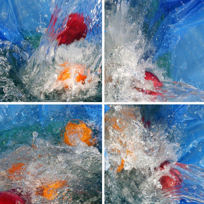 Abstracte waterachtergrond royalty-vrije stock afbeeldingen