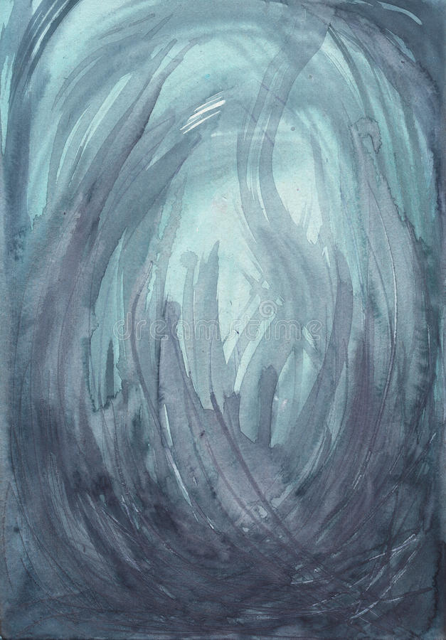 Abstracte Watercolour-Textuur stock illustratie