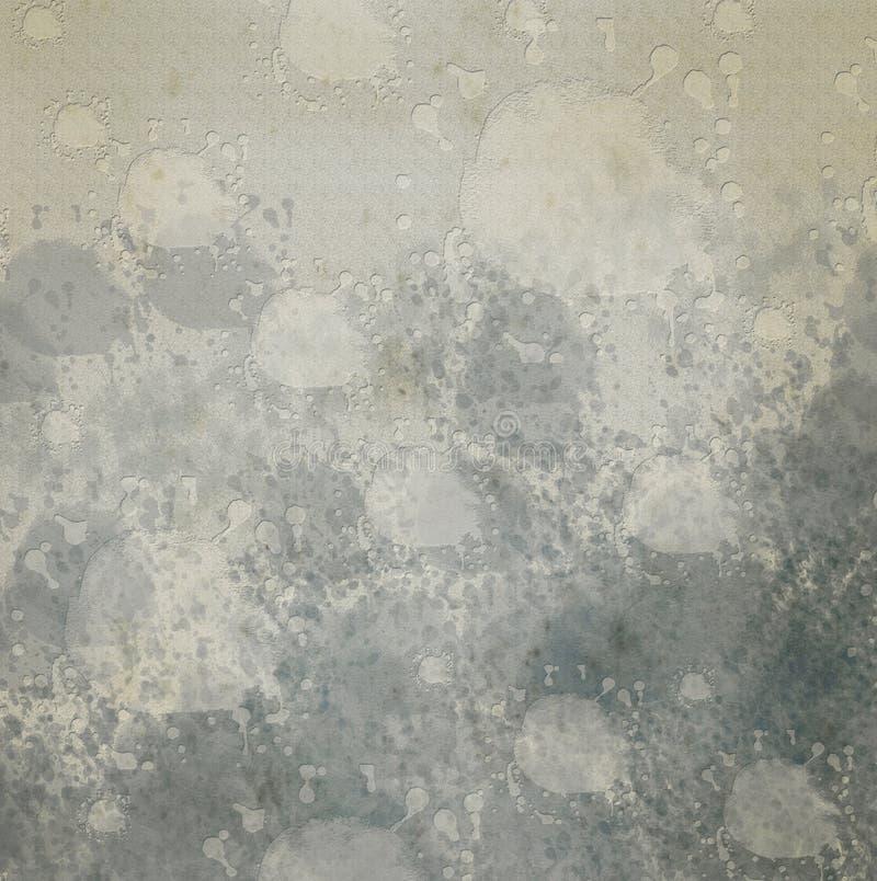 Abstracte waterkleur. stock illustratie