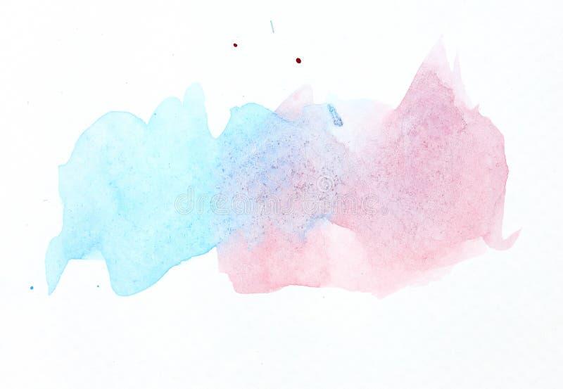 Abstracte waterkleur royalty-vrije stock foto