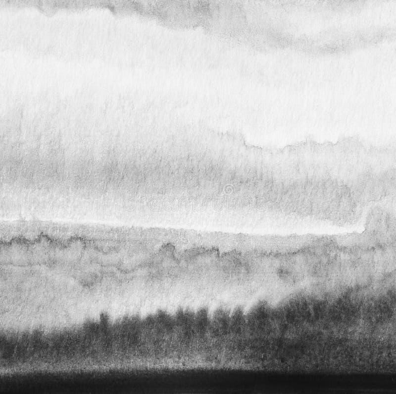 Abstracte waterverf geschilderde achtergrond stock afbeelding