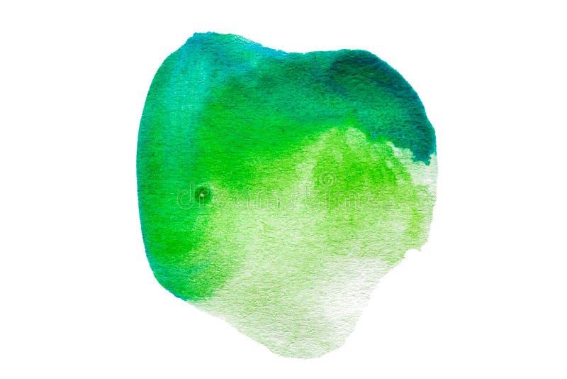 abstracte waterverf op witte achtergrond vector illustratie
