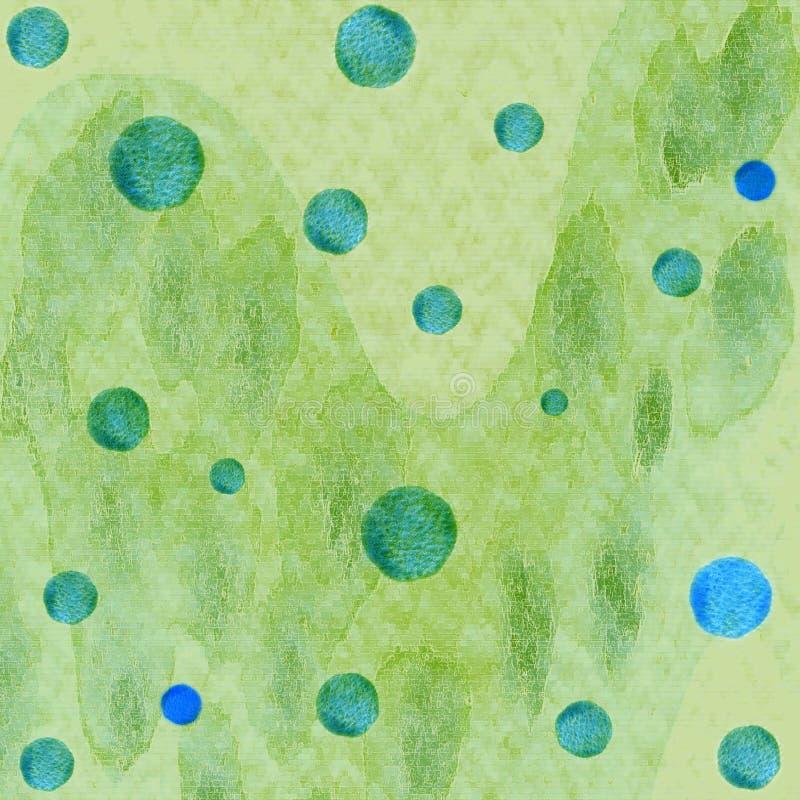 Abstracte waterverfachtergrond stock foto's