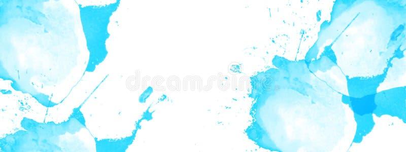 Abstracte waterverfachtergrond Gerimpelde (document) textuur stock fotografie