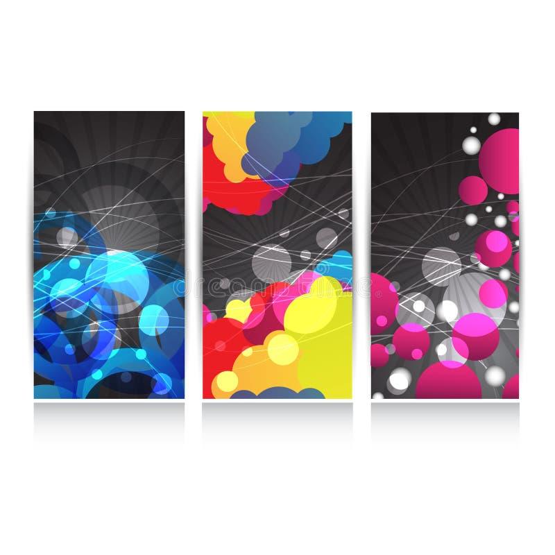 Abstracte websitekopbal of banner Vector stock illustratie