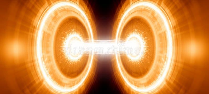 Abstracte wetenschappelijke achtergrond vector illustratie