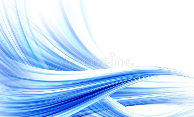 Abstracte windachtergrond stock illustratie