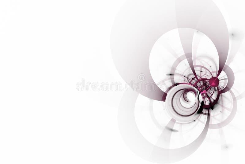 Abstracte witte achtergrond stock illustratie