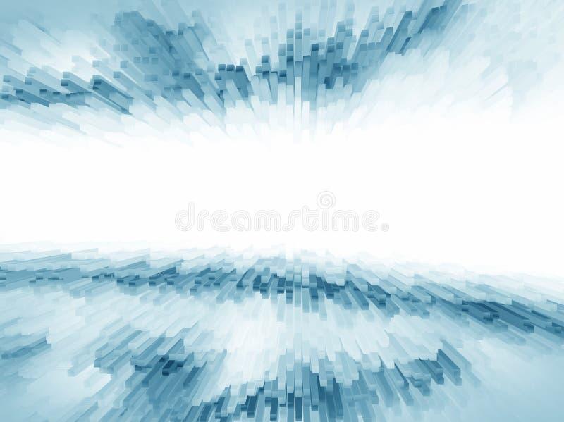 Abstracte witte blauwe achtergrond voor ontwerp vector illustratie
