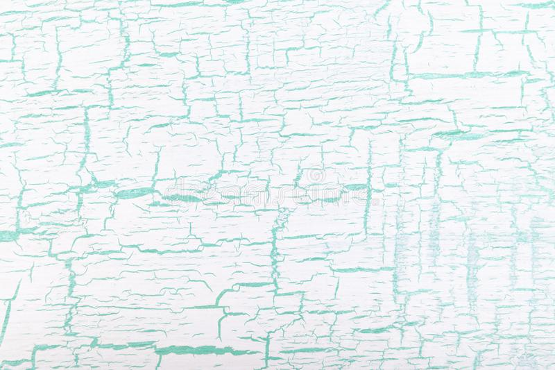 Abstracte witte en groene geschilderde gebarsten achtergrond vector illustratie