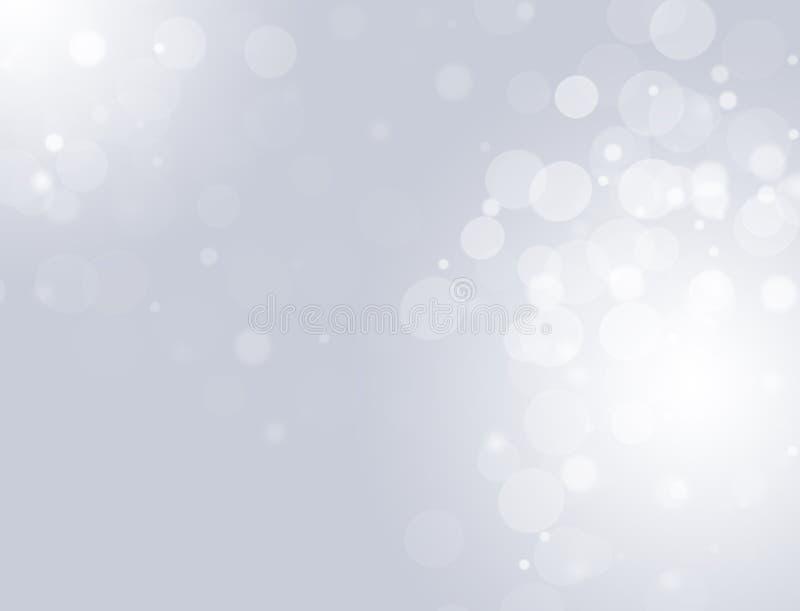 Abstracte witte grijze grafiekachtergrond voor ontwerp stock illustratie