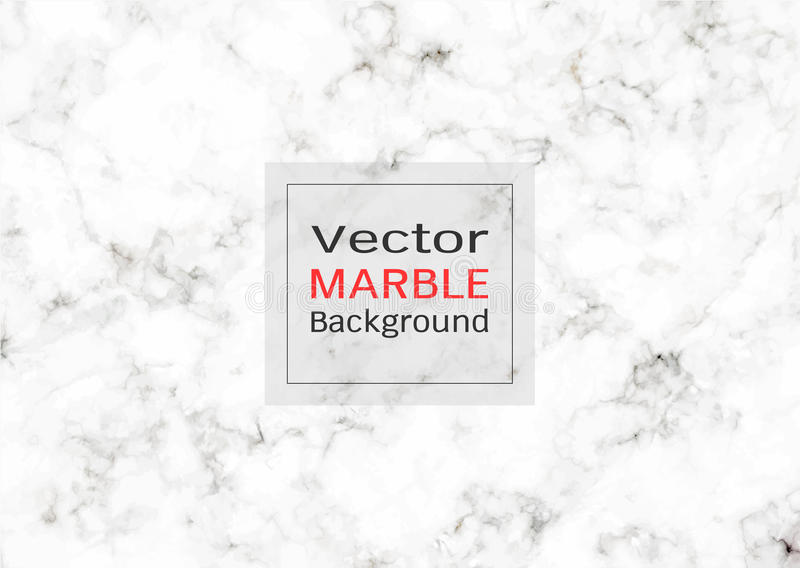 Abstracte witte marmeren textuur, Vectorpatroonachtergrond stock afbeelding