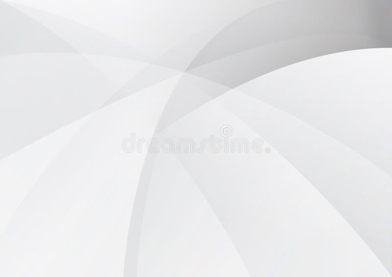 Abstracte witte zwarte grijze rassenbarri?resachtergrond stock illustratie
