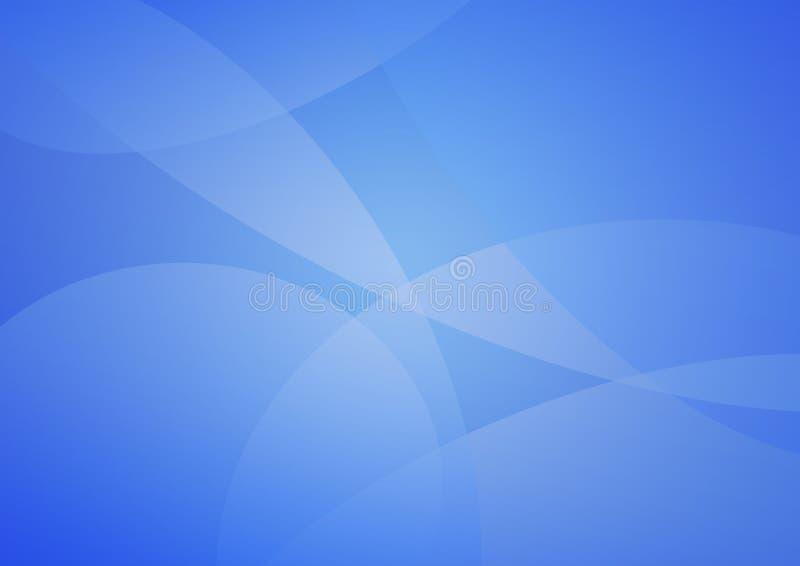 Abstracte zachte blauwe achtergrond royalty-vrije illustratie