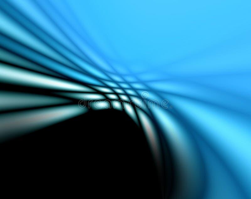 Abstracte zachte blauwe achtergrond voor ontwerp stock illustratie