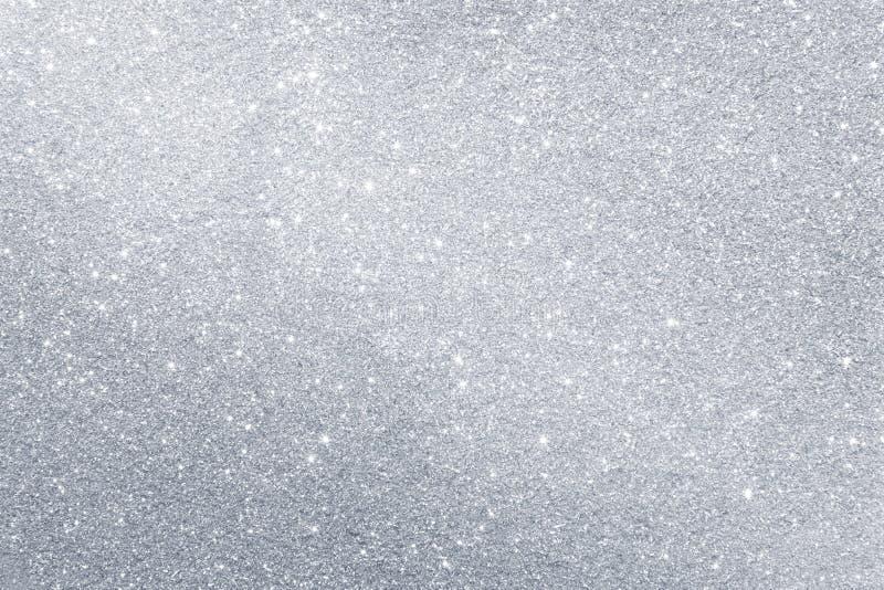 Abstracte zilveren achtergrond stock foto's