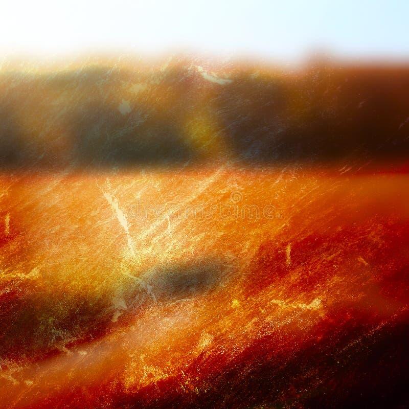 Abstracte zonsondergangachtergrond