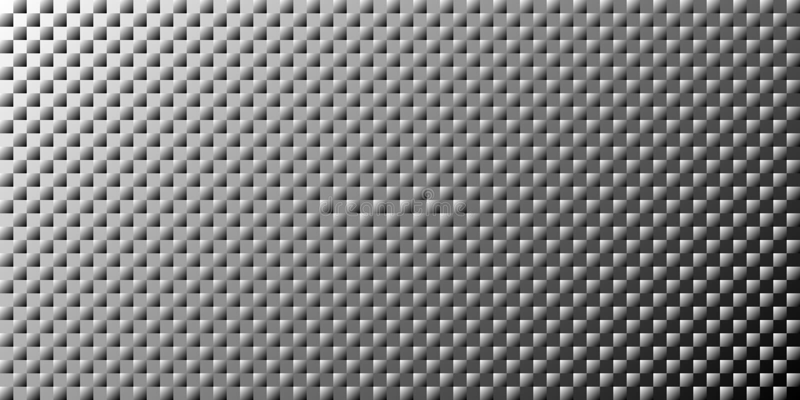 Abstracte zwart-wit digitale vectorachtergrond Zwart-wit halftone gradiëntpatroon royalty-vrije illustratie