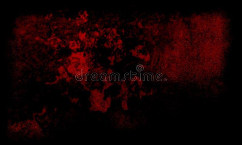 Abstracte zwarte en donkerrode textuurachtergrond stock foto's
