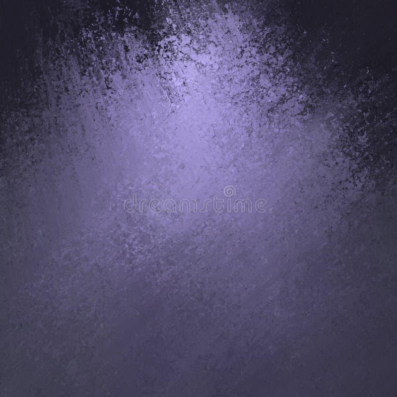 Abstracte zwarte purpere textuur als achtergrond stock illustratie